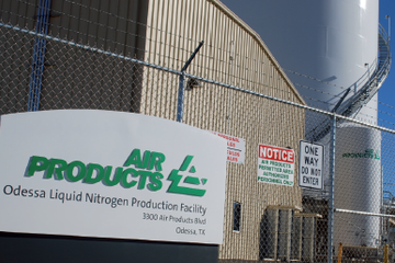 Air Products inaugure une usine d'azote liquide au Texas